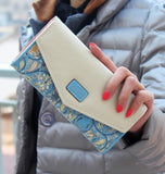 Female-Wallet-in-Envelope-Design-and-Flower-Patterned-Leather-Clutch-blue