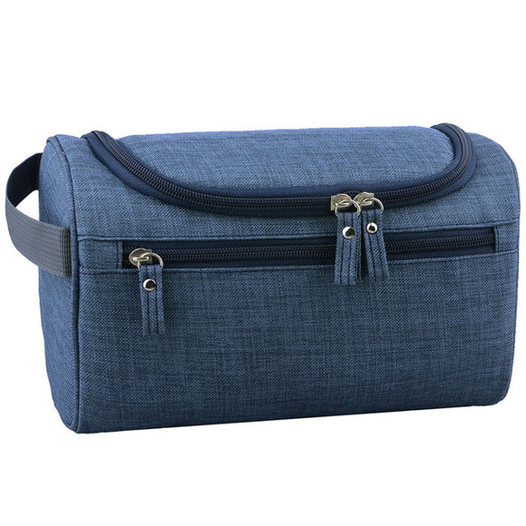 Unisex Large Waterproof Hemp design Makeup and Toiletries Travel Cosmetic Bag Organizer Case