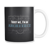 Trust me i'm an architect coffee mug_black