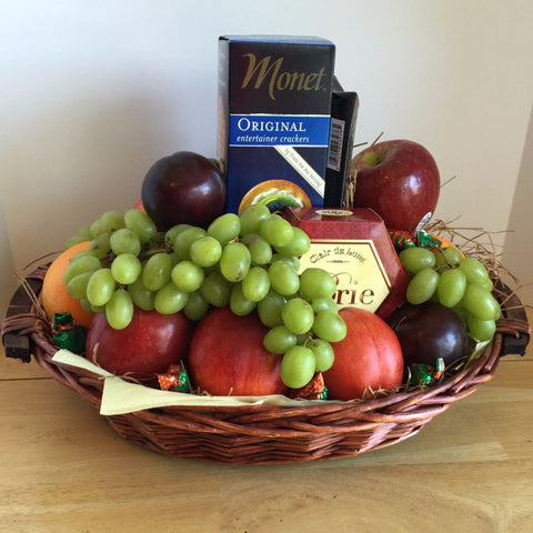 Fruit & Gourmet Classic Gift Basket