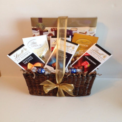 Lindt Chocolate Bliss Gift Basket