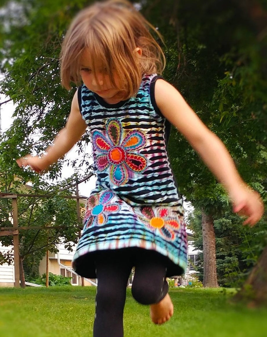 Flower Rainbow Dress