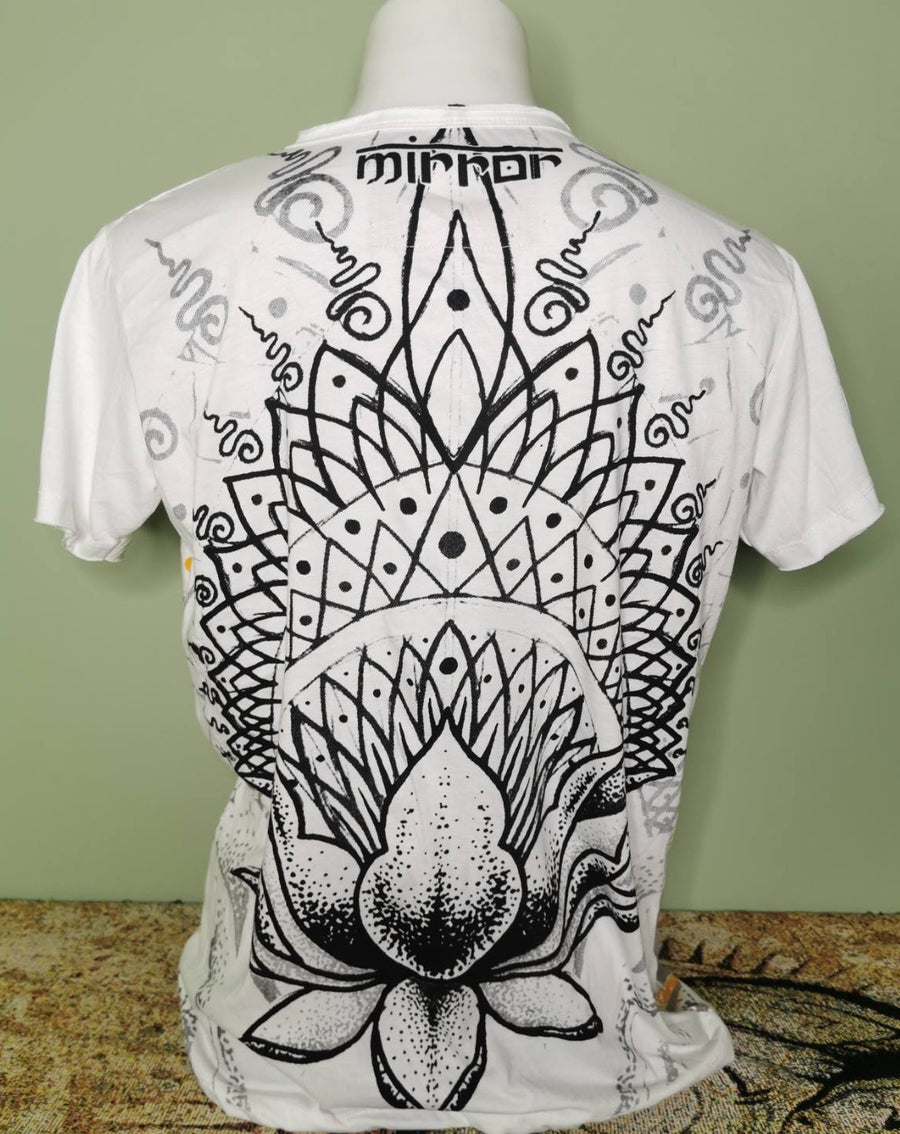 Mirror ~ Giant Lotus Flower (Size M only)