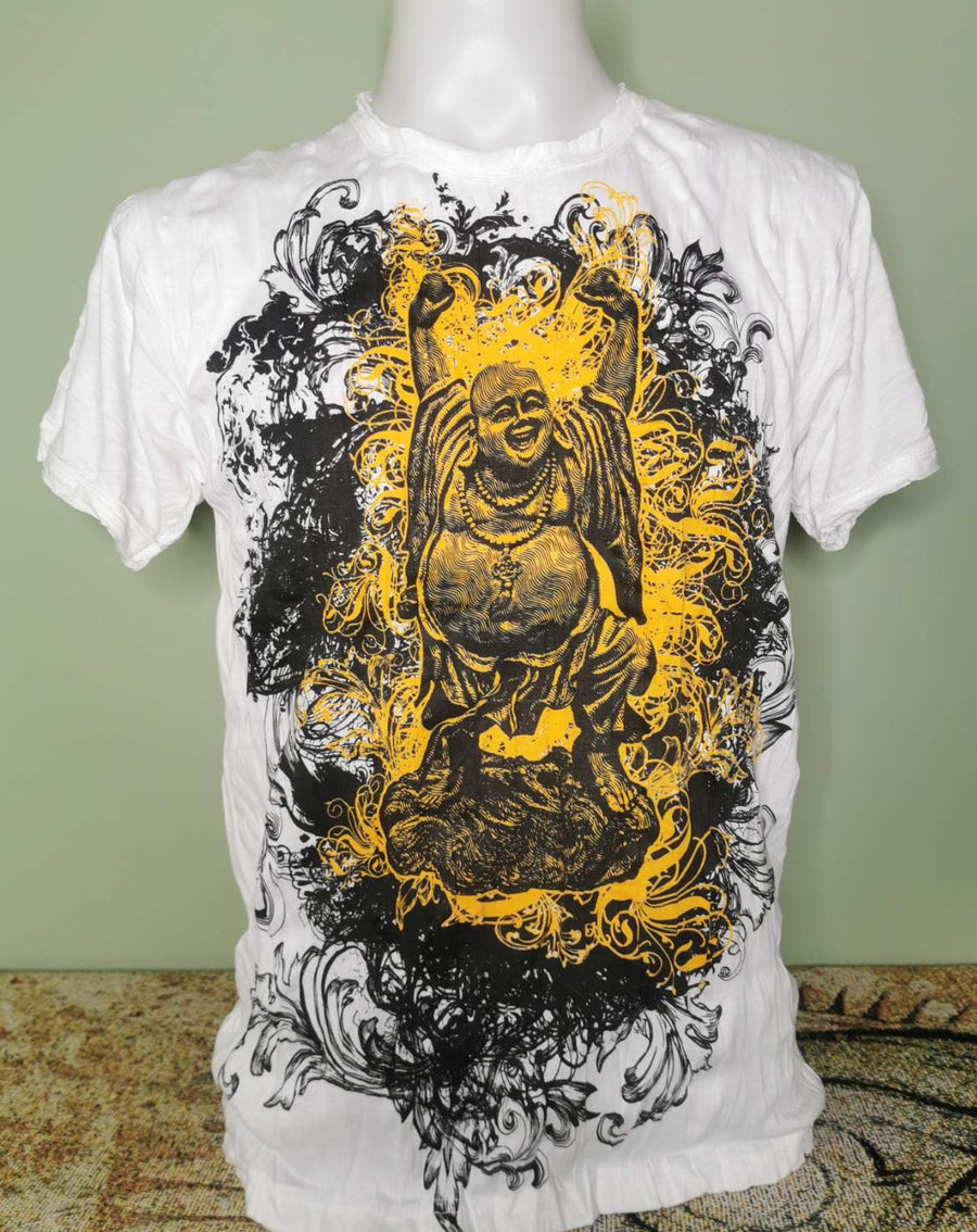 Pure Concept ~ Happy Buddha (Sizes M & L)