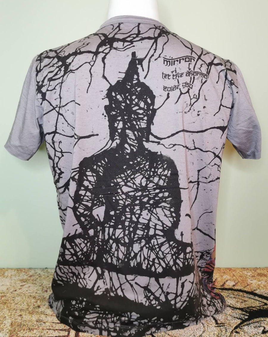 Mirror ~ Sitting Buddha (Sizes M & L)