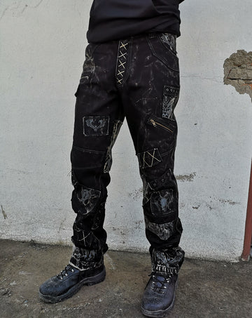 Triple X denim pants designed by Perry, Arcane Coda Denim Wear