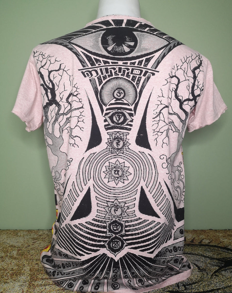 Mirror ~ Vibrant Meditation (Sizes M & L)