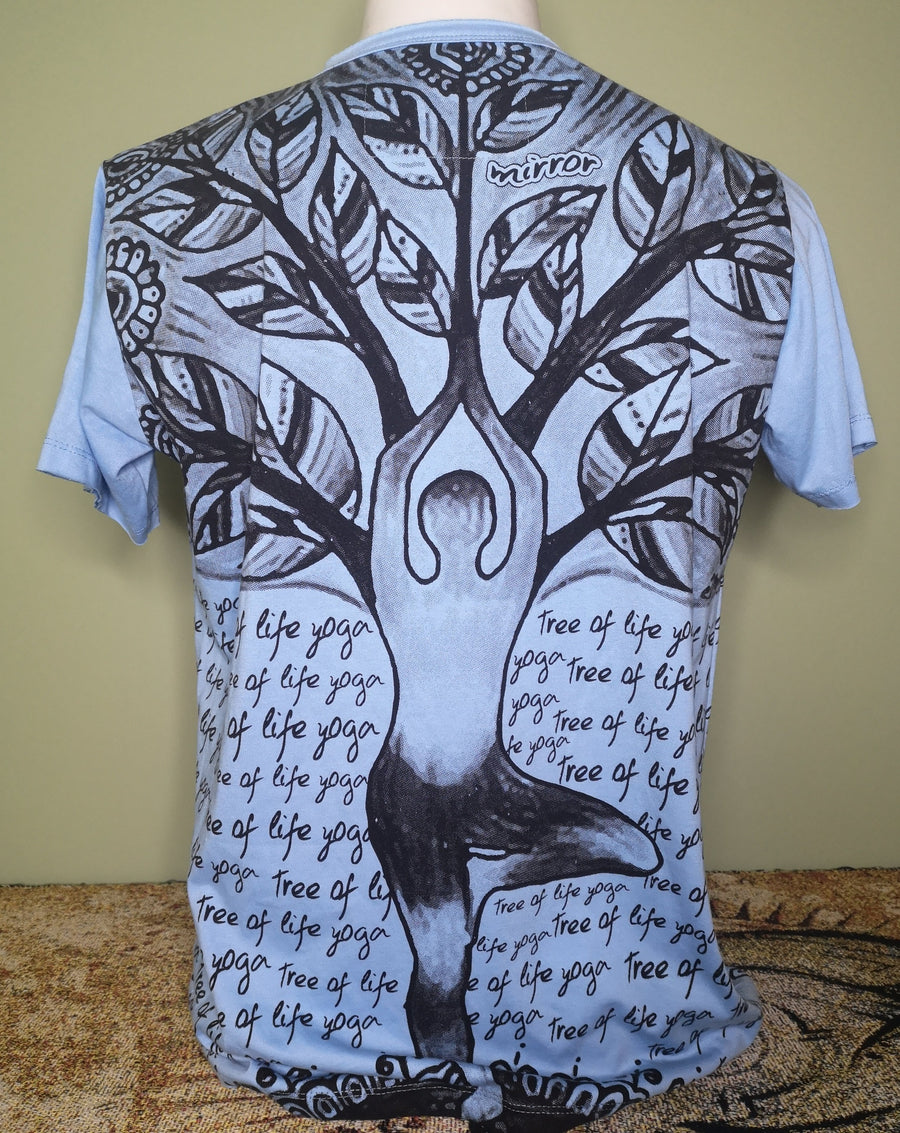 Mirror ~ Tree Pose (Sizes M & L)