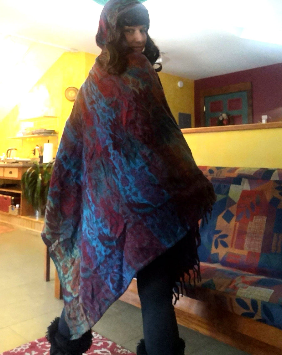 Colour Punch Poncho