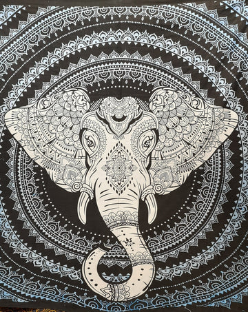 Sacred Elephant with Mandala