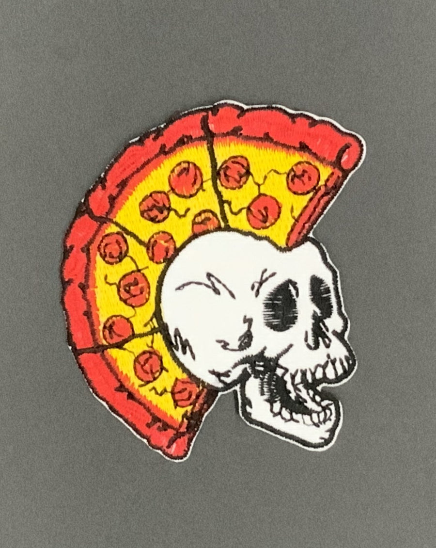 Pizza Skull Head