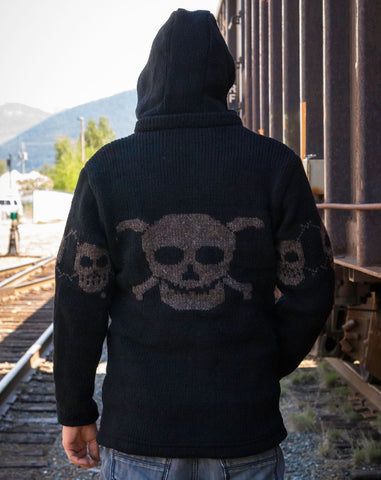 Original Skull Wool Jacket