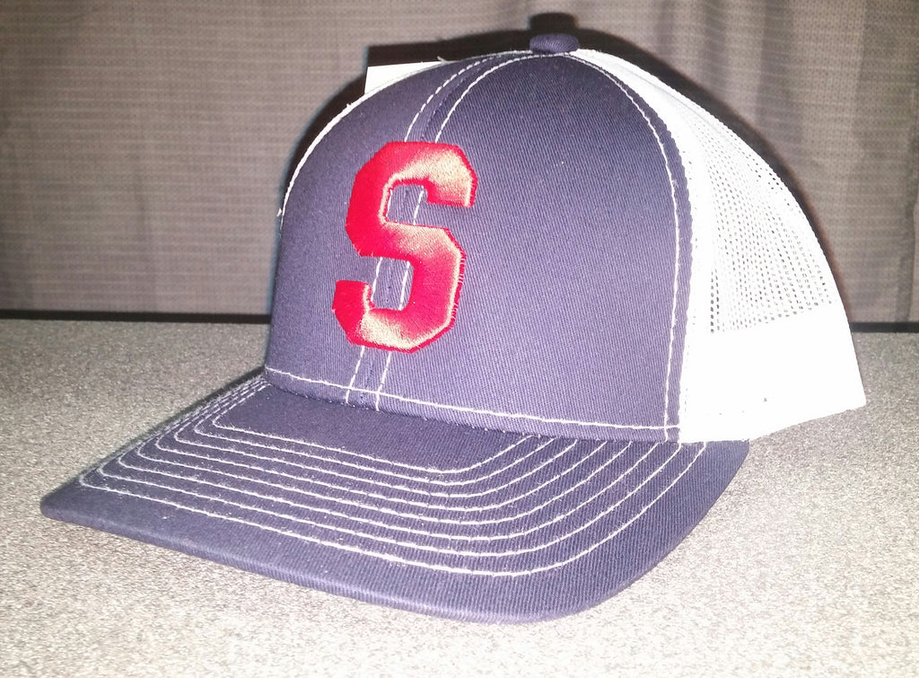 Navy/White Southern hat
