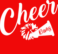 Southern Cheer Red Long Sleeve Shirt