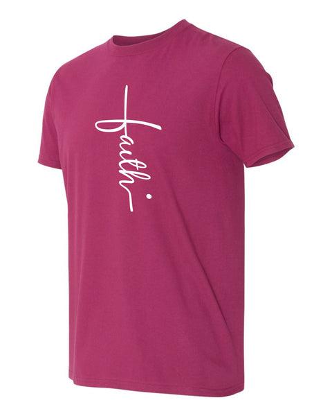 Faith Cross Design T shirt
