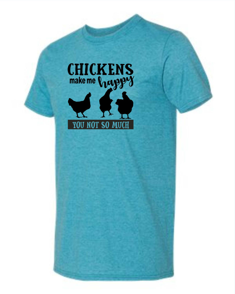 Copy of Chickens make me happy