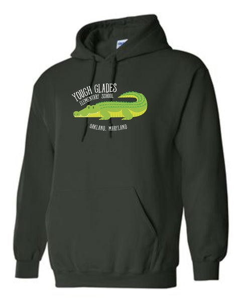 Yough Glades Forest Green Hoodie