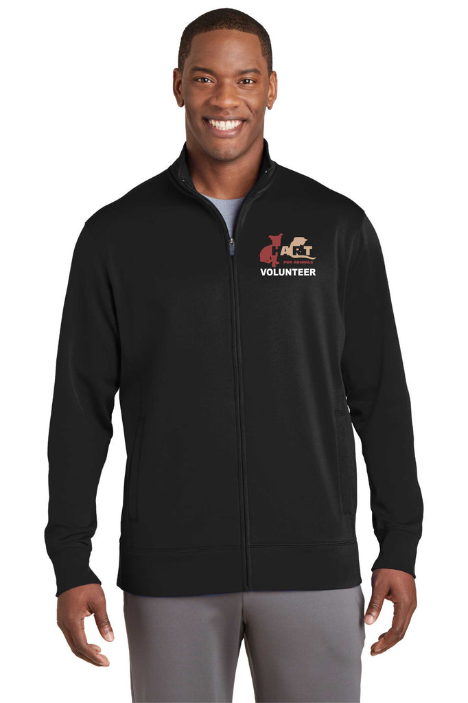 HART Volunteer Embroidered Performance Fleece Full-Zip Jacket