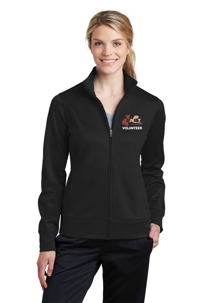 HART Volunteer Embroidered Performance LADIES Fleece Full-Zip Jacket