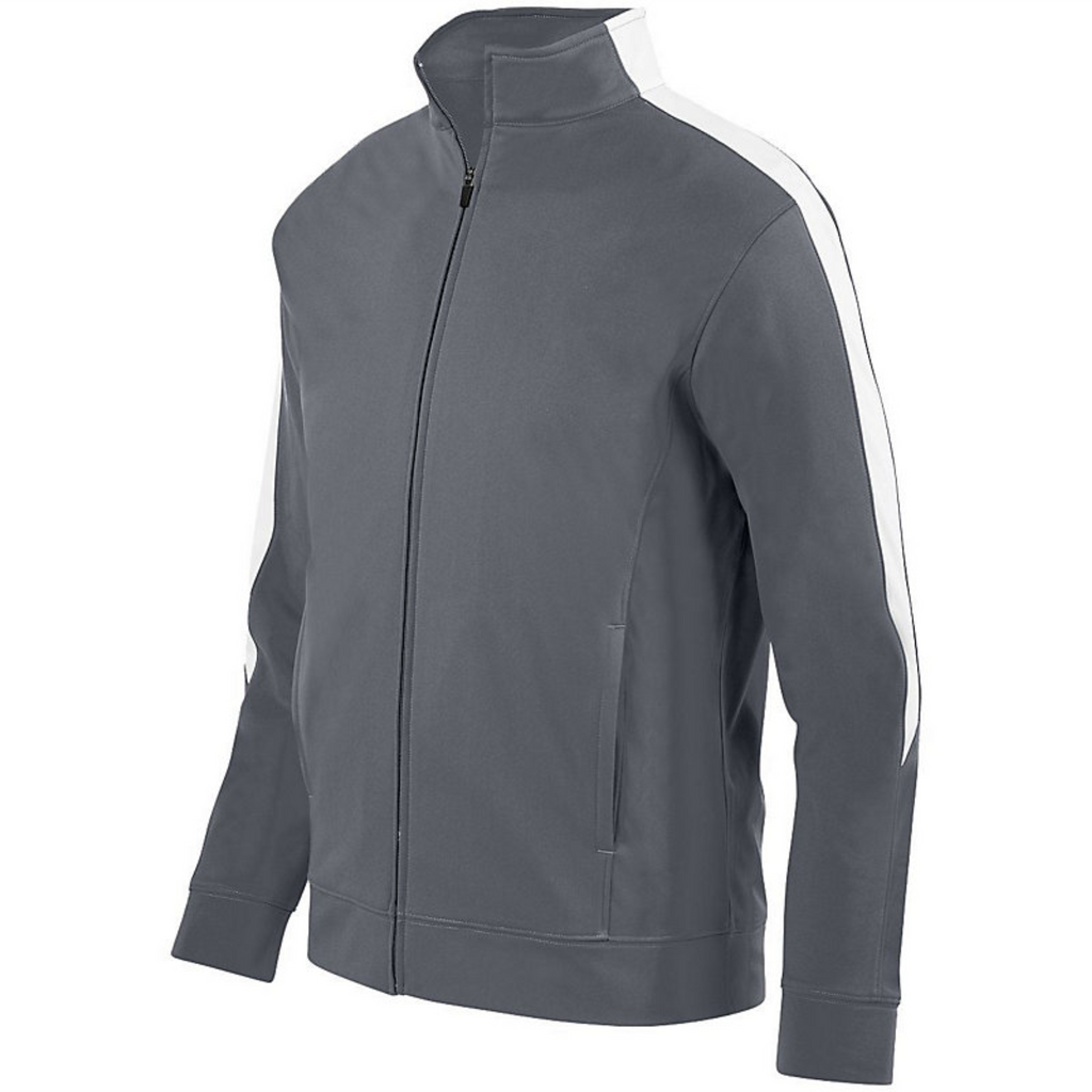 FDA Grey Front Zip Jacket