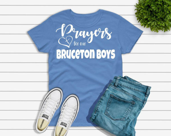 We Support our Bruceton Boys T-Shirt