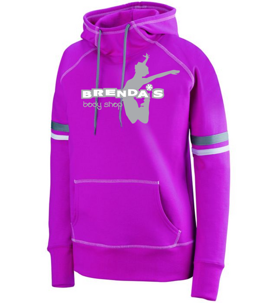 Pink Spry Cotton Hoodie