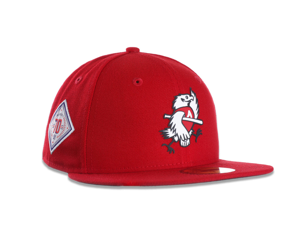 GORRA AGUILAS NEW ERA ROJA 2018 LOGO ÁGUILA RETRO1998 59FIFTY
