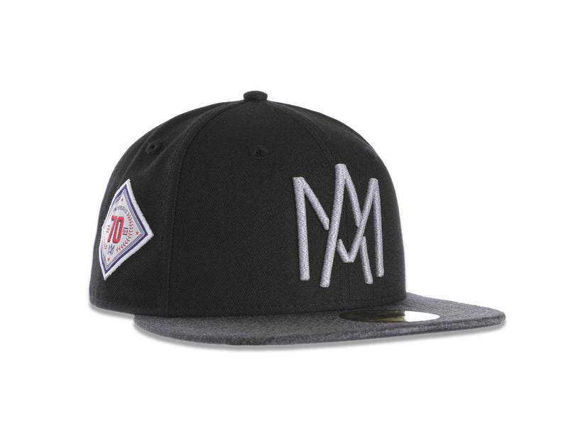 GORRA ÁGUILAS NEW ERA NEGRO/GRIS 2018 LOGO AM  59FIFTY