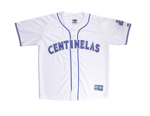 Jersey Adulto Centinelas Blanco