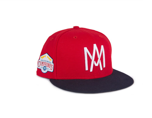 GORRA 59FIFTY CAMPEONATO ROJO/MARINO AM BLANCO