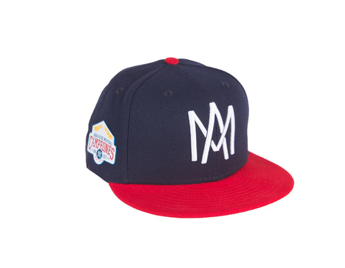 GORRA 59FIFTY CAMPEONATO MARINO/ROJO AM BLANCO