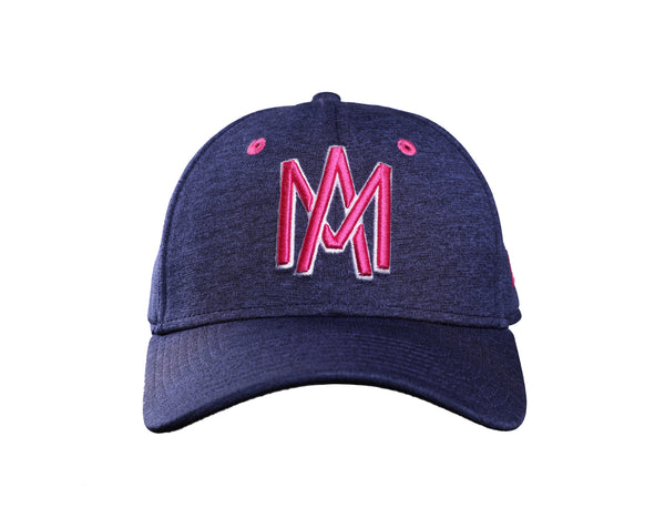 GORRA MQV NEW ERA AZUL 2018 AM ROSA 39THIRTY