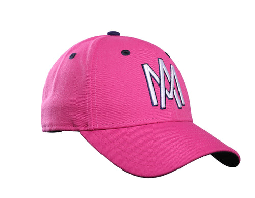GORRA MQV NEW ERA ROSA 2018 AM BORDADO CON RELIEVE 9/40