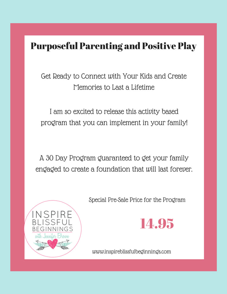 30 Day Parent Child Program