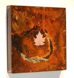 Copper Maple Leaf with green patina - Arc Academy