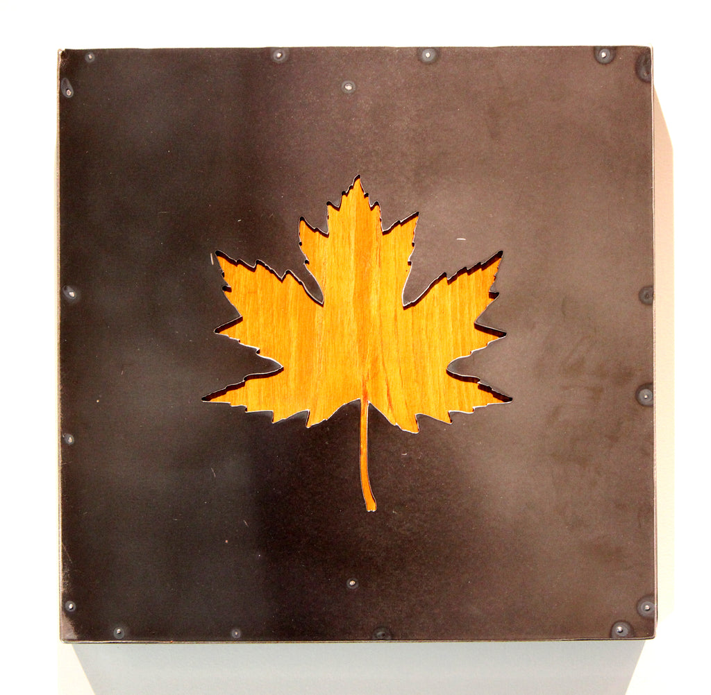 Maple Leaf with wood back - Arc Academy