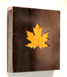 Framed Maple Leaf w/finished birch - Arc Academy
