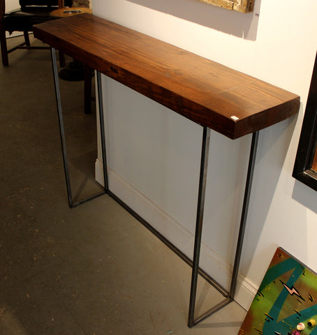 ... 1840 Creative Skinny Long Table Reclaimed Wood Top   Arc Academy