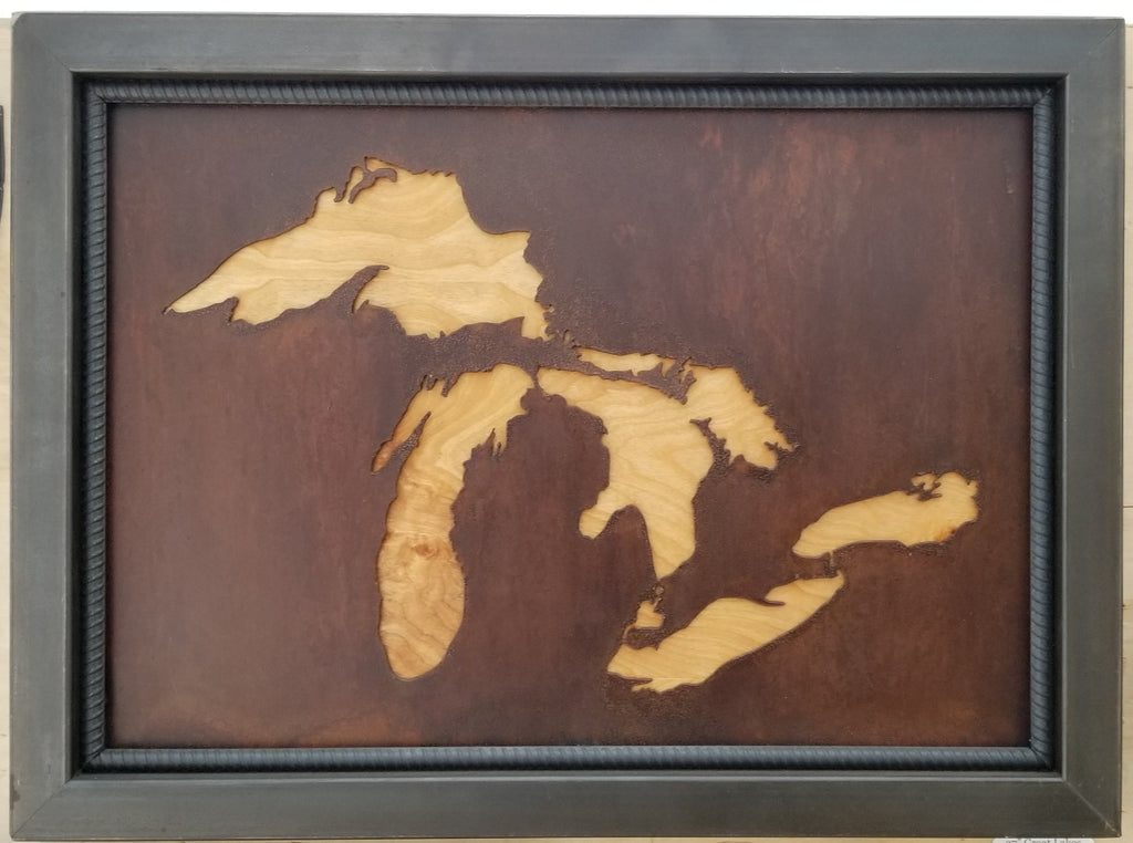 "27""   Great Lakes framed with Birch back - Arc Academy"