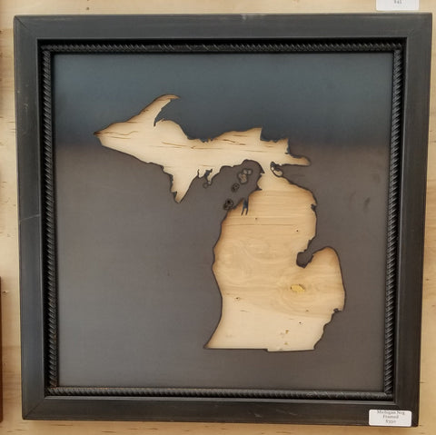 "25"" Michigan Negative Framed - Arc Academy"