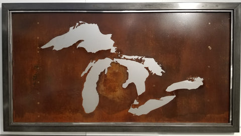 "66"" Great Lakes frame trim steel backing - Arc Academy"