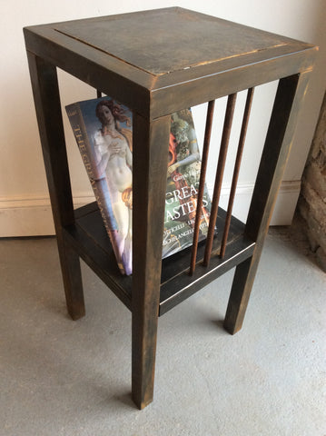 Rustic end table - Arc Academy