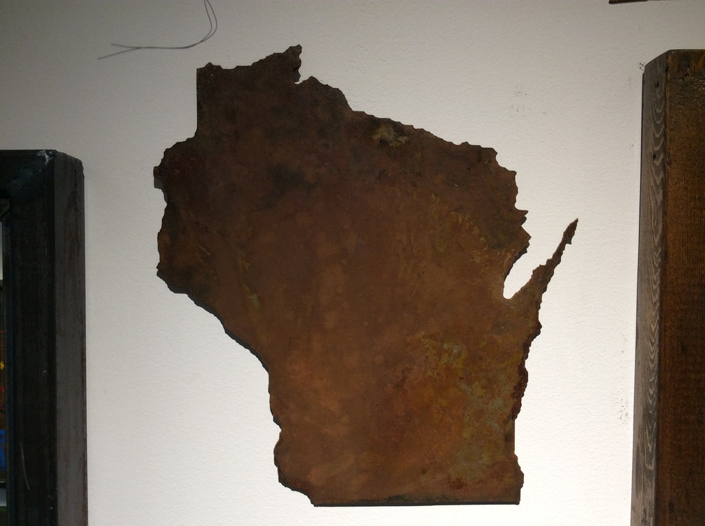 Wisconsin  - Light Rust Patina - Arc Academy
