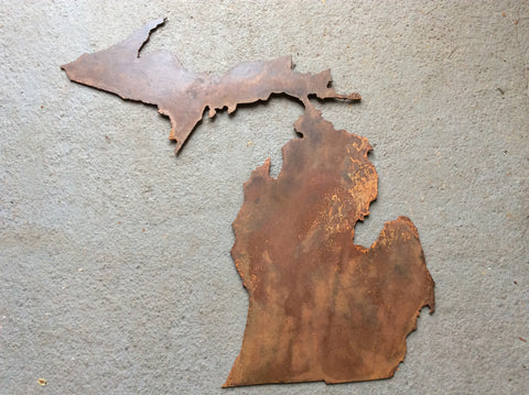 "Michigan - Light Rust Patina 11"" - Arc Academy"