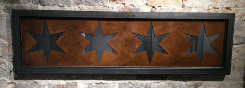 Chicago Stars rebar trim framed - Arc Academy