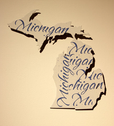 "White Michigan with Michigan print 11"" - Arc Academy"