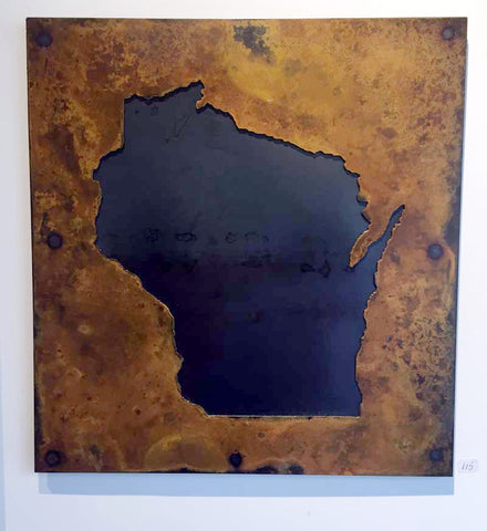 Wisconsin - Negative Bright Rust Patina - Arc Academy