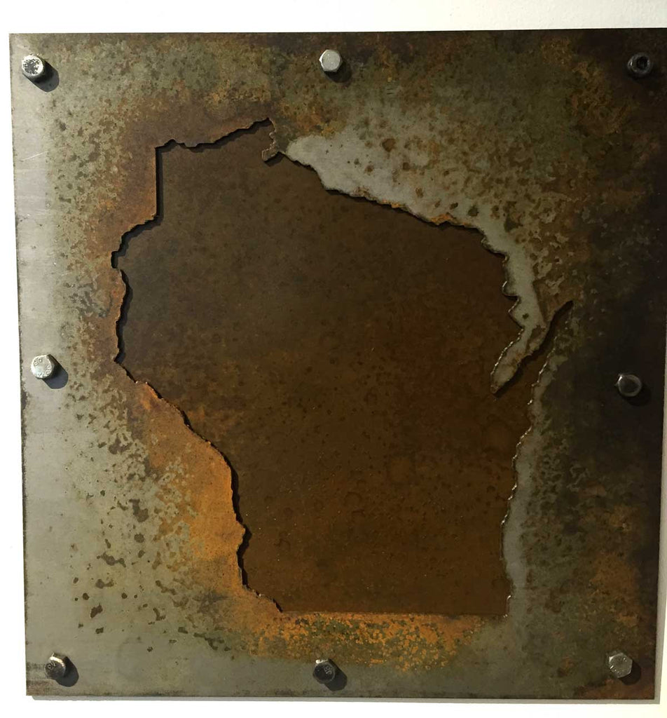 Wisconsin - Rust Patina with Screws - Arc Academy