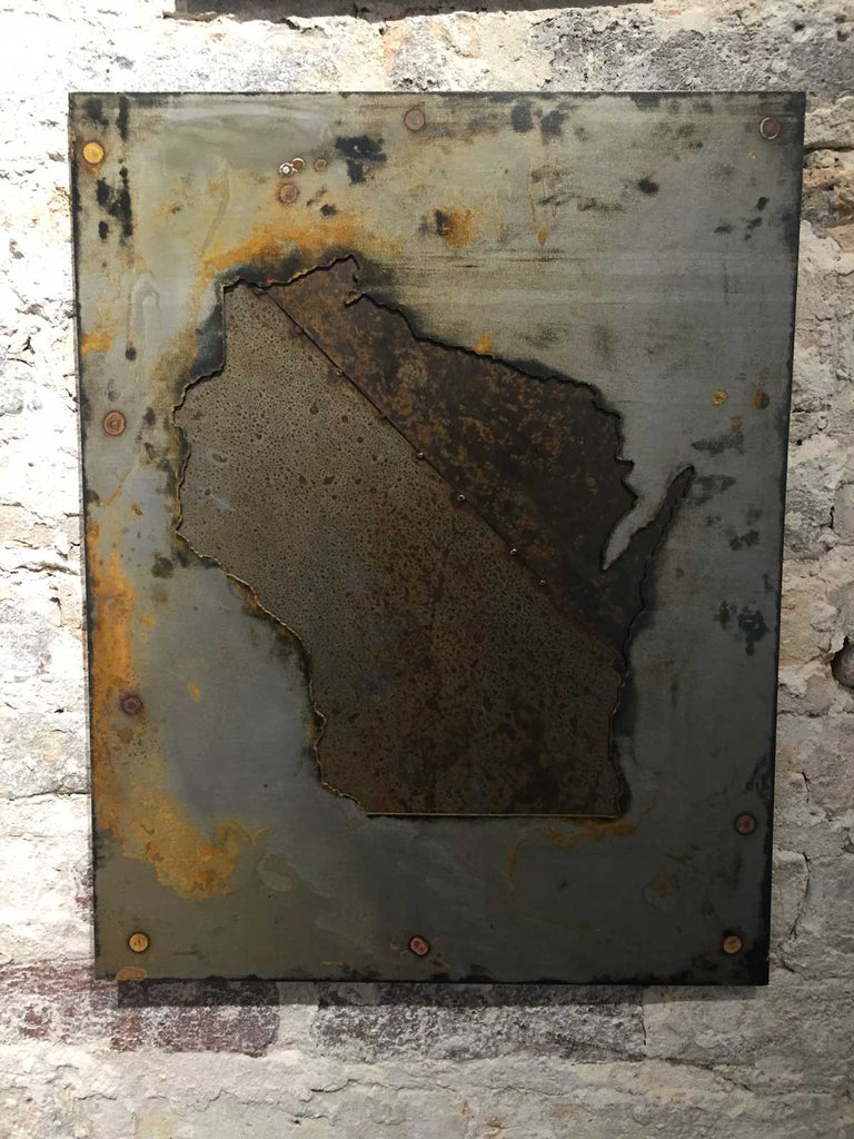 Wisconsin - Gray Tarnish with Rust Patina - Arc Academy