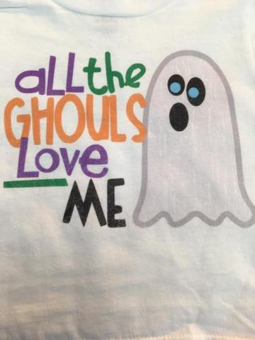 All The Ghouls Love Me Vintage Tee